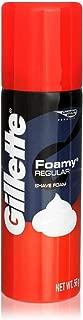 Gillette Foamy Regular Shaving Cream, 2 Ounce