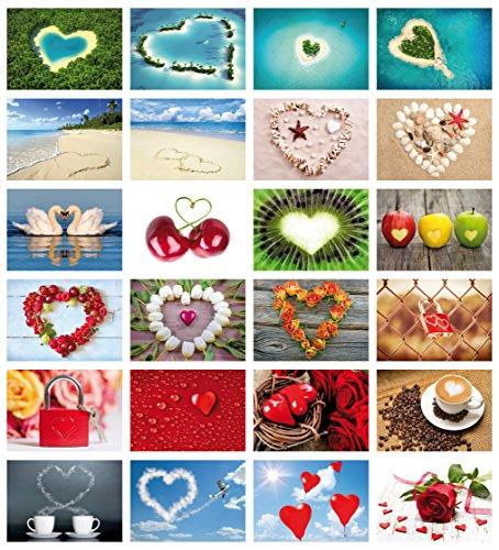 Postkarten-Set Liebe