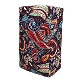 """Smart Blender Cover,Food Processor Dust Cover, Large Size 9""""Lx7""""Wx16.5""""H, Diamond Collection Kitchen Appliance Case With One Big Pockets, Year Around Protection For Appliances (Mandala)"""