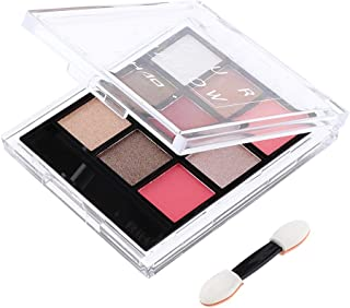 F Fityle 9色 化粧パレット アイシャドウ メイクアップ スモーキー化粧 ハイライト 4色選べ - 02