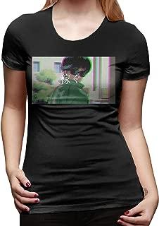 WEIYE World's Greenest Dad Women Short Sleeve T Shirt Casual Tee Black