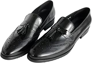 Dress Shoes for Men Tassel Loafer Genuine Leather Venetian-Style Slip-On by