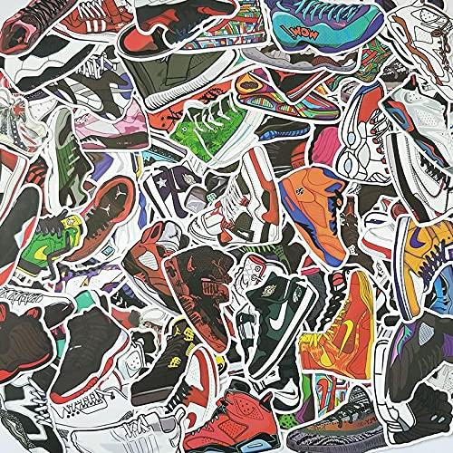 AJ Jordan Flyer Baloncesto Zapatos Pegatinas Equipaje Marea Marca Hombres Portátil Decoración Pared Pegatinas Impermeable