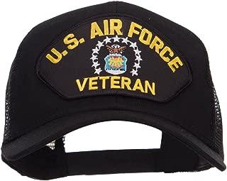 e4Hats.com US Air Force Veteran Military Patched Mesh Cap