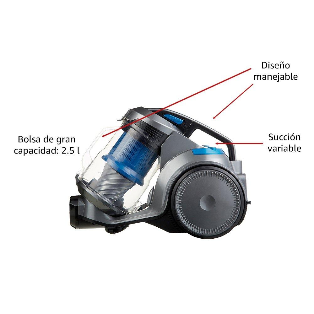 AmazonBasics – Aspirador multiciclónico, filtración de alta ...