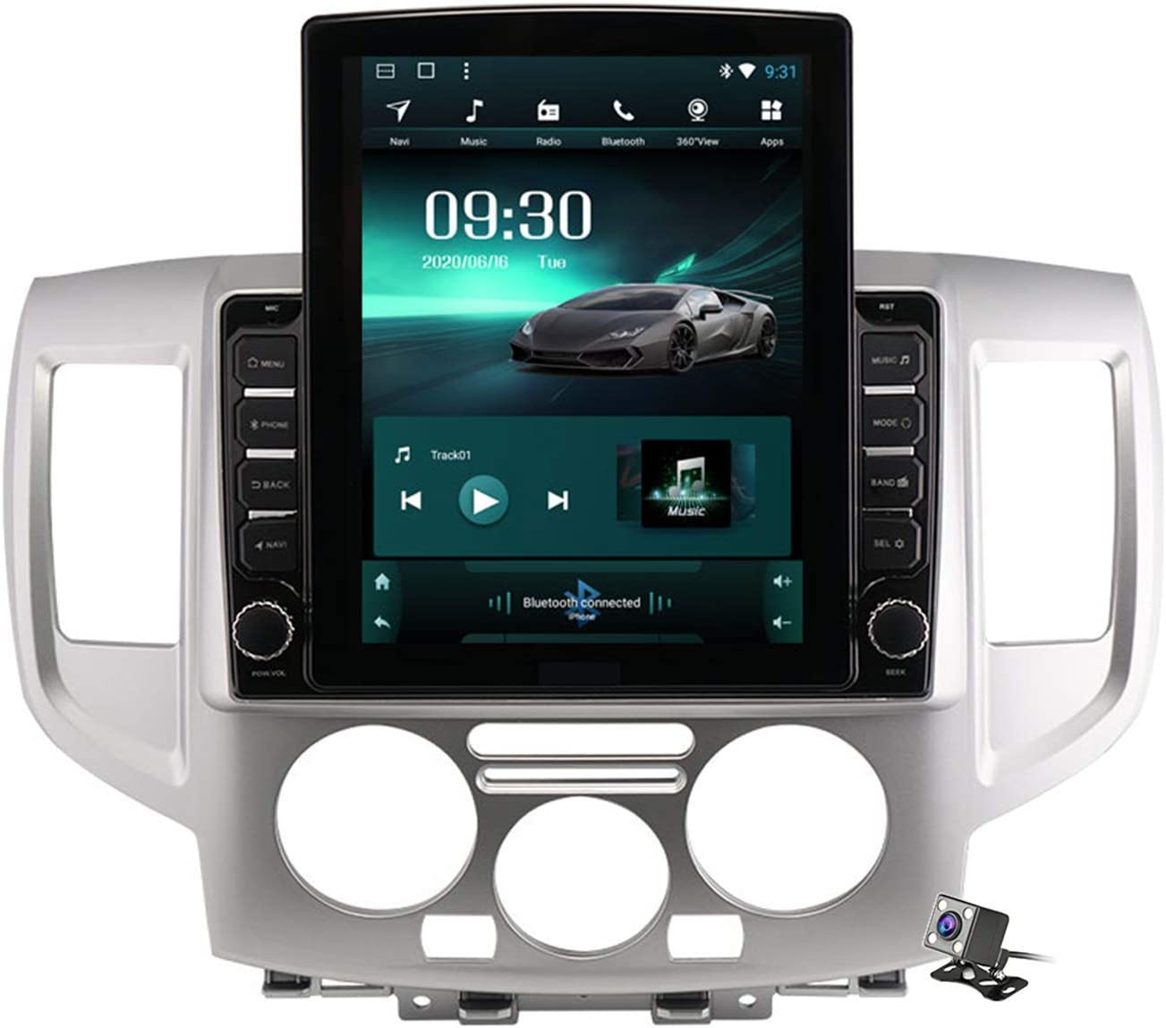 HBWZ Android 9.0 Car Import Stereo Radio Max 43% OFF for NV200 2010-2018 Nissan GP