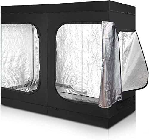 discount Giantex Plant Growing Tent Indoor sale Grow Tent Room 2021 Reflective Mylar Hydroponic Non Toxic Clone Hut 6-Size Indoor Grow Tent (96''X48''X78'') outlet online sale