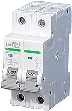 LOT 2pcs,1 Amp SHURTER 2 Pole Din Rail MCB Circuit Breaker UL 230 240 480 Volt C