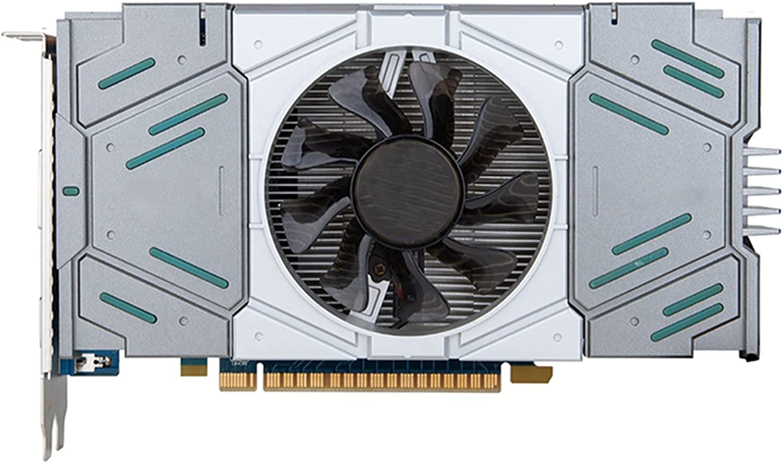 RKRLJX Tarjeta gráfica GTX 650750 TI 2GB 960970 4G 1050 TI 4GB GTX 1660 1660S RTX 2060 6GB RX560 Tarjetas de Video de 4GB Tarjeta gráfica para Juegos GPU(Color:GTX 750TI 2G)