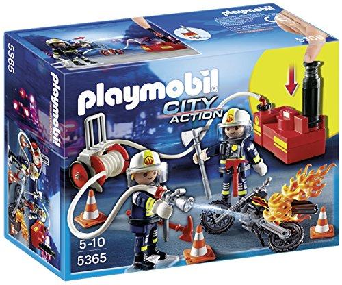 Playmobil 5365 - Vigili del Fuoco in Azione, 2 Pezzi