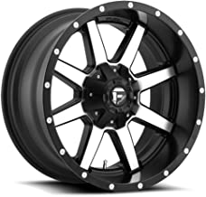 FUEL Maverick MB -BLK MACH Wheel with Painted (18 x 9. inches /6 x 135 mm, -12 mm Offset)