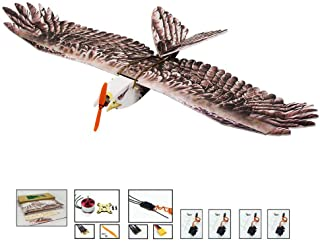 Upgrade RC Glider Airplane Eagle Foam RC Plane, 1.4M Wingspan Durable EPP RC Airplanes Kit to Build for Adults, DIY Electr...