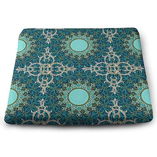 BathWang Sitzkissen aus Memory-Schaumstoff Autositzkissen zur Erhöhung der Höhe – Bürostuhl-Kissen – dekorativ persisch