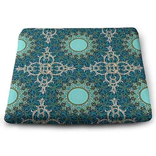 Sitzkissen aus Memory-Schaumstoff für Autositzerhöhung, für Bürostuhl, dekorativ, persisch