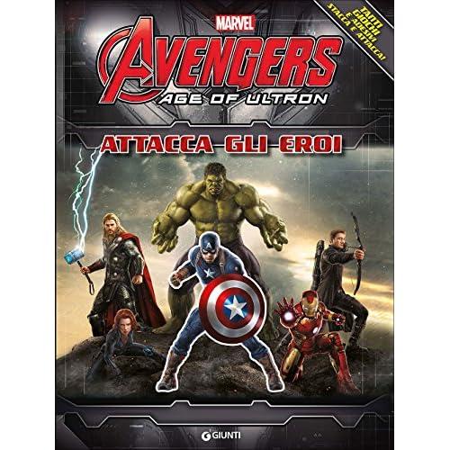 The Avengers. Age of Ultron. Attacca gli eroi