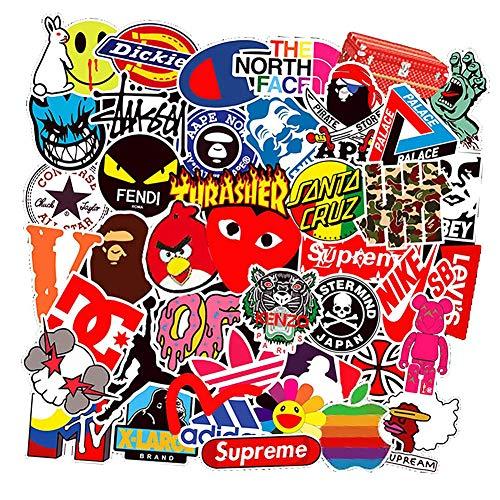 Stickerbomb Couleur Autocollant Graphique Artwork Wrap Polyvalent Skate Ensemble thème 3