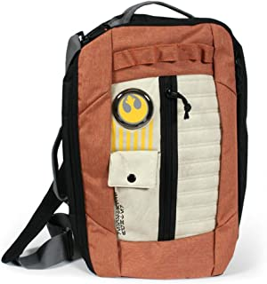 bioWorld Star Wars Resistance Pilot Inspired Three in One Convertible Backpack