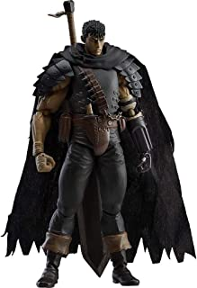 Berserk: Guts (Black Swordsman Version) Figma Action Figure - Including Multiple Expressions - High 17CM