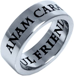 Rush Industries ANAM Cara Irish Celtic Ring - Celtic Jewelry - Soul Friend Ring - Friendship Ring - Friendship Jewelry