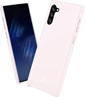 Samsung Galaxy Note10+ / Note10+ 5G Case, DUX DUCIS Silky Touch PU Leather Soft Back Cover, Anti-Scratch Ultra Slim Back C...