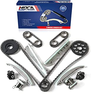 MOCA Timing Chain Kit 9-0387SF for 2003-2005 Lincoln Aviator, Mercury Marauder, Ford Mustang 4.6L DOHC 281CU 32V INTECH