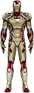 Dragon Models Iron Man 3 - Hall of Armor - Mark XLII, Action Hero Vignette with Lighted Hall Building Kit (1/9 Scale)