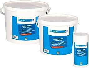POOLSBEST® 1,2 kg Multitabs 2 Speed 7 in 1 – Chlortabletten für Pool mit 2..