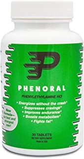 Phenoral Weight Loss Diet Pill – Appetite Suppressant and Energy – Boost Your Metabolism While Eating Less