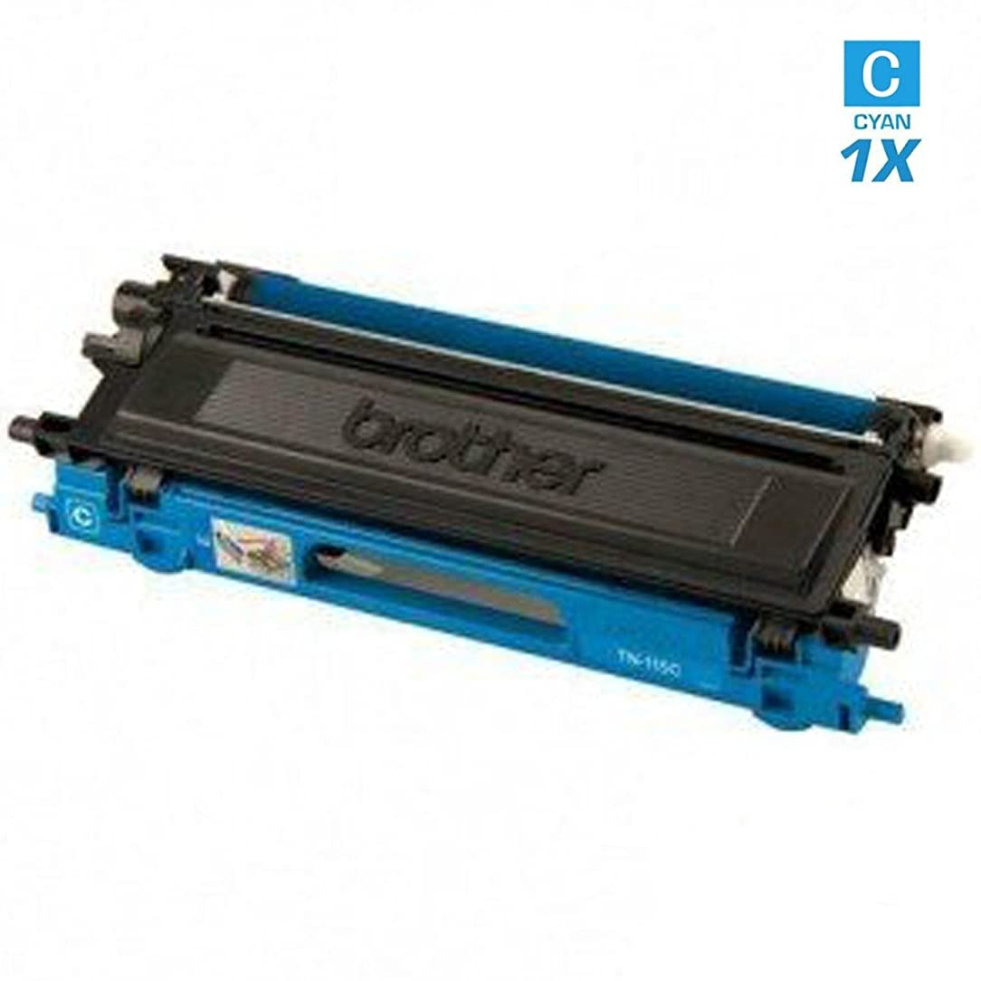 AZ Supplies ? Re-Manufactured Replacement TN115C High Yield Cyan Toner Cartridge for Brother DCP-9040CN, DCP-9045CDN, HL-4040CDN, HL-4040CN, HL-4070CDW, MFC-9440CN, MFC-9450CDN, MFC-9840CDW Printers. Black: 4,000 Page Yield.