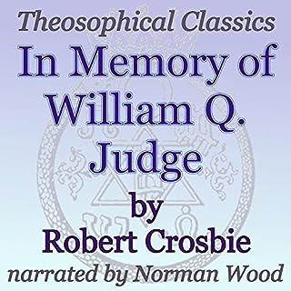 In Memory of William Q. Judge: Theosophical Classics cover art