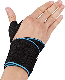 BESPORTBLE Wrist Wraps with Thumb Brace Wrist Support Band for Weight Lifting Powerlifting Strength Training