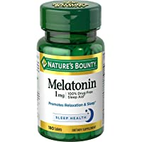 Nature's Bounty Melatonin 1 mg 180 Tablets