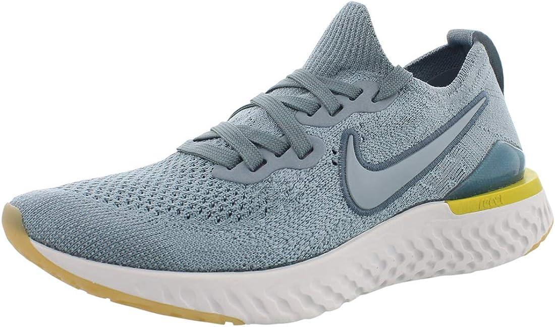 Nike Epic React Flyknit 2 (GS) Big Kids' Running Shoes Aviator Grey/Aviator Grey aq3243-005