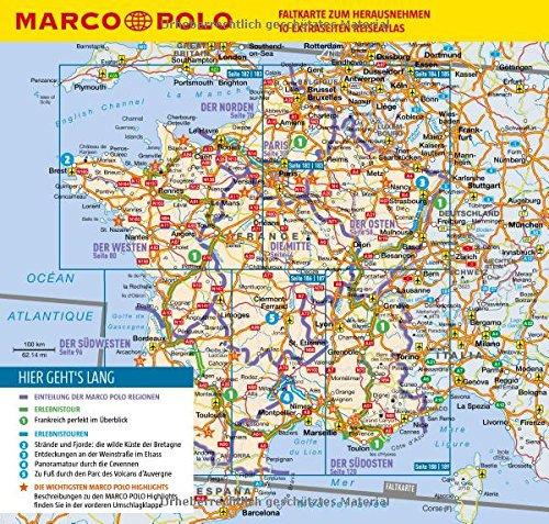 MARCO POLO Reiseführer Frankreich: Reisen mit Insider-Tipps. Inklusive kostenloser Touren-App & Update-Service - 2