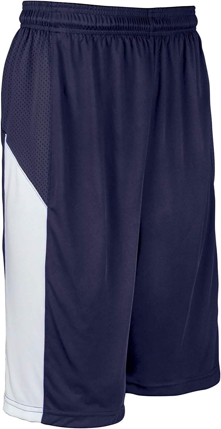 CHAMPRO Charge Polyester Basketball Navy X-Large Short Max 83% OFF Surprise price Adult