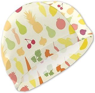 Gorro de baño de Frutas para niños Gorro de baño para niños