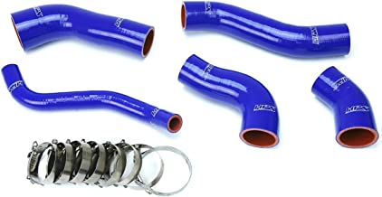 HPS Blue Reinforced Silicone Intercooler Hose Kit for 13-17 Hyundai Veloster 1.6L Turbo