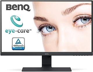 BenQ GW2780 68,58 cm (27 tum) LED-skärm (Full-HD, Eye-Care, IPS-Panel Technology, HDMI, DP, högtalare) svart [energiklass ...