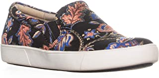 fabric sneakers with floral detail