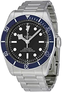 Heritage Black Bay Automatic Mens Watch 79230B-BKSS