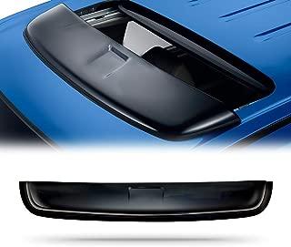4 Pcs Set Compatible With 2005-2010 Honda Odyssey Tuningpros WD2-238 Outside Mount Window Visor Deflector Rain Guard Dark Smoke
