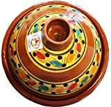 marocstore, pentola ideale per cucinare il piatto tipico marocchino tajine, con diametro di 30 cm,...