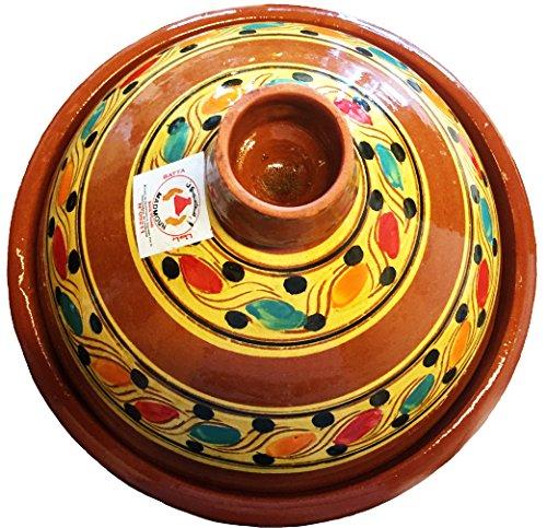 marocstore, pentola ideale per cucinare il piatto tipico marocchino tajine, con diametro di 30 cm, per 4-5 persone
