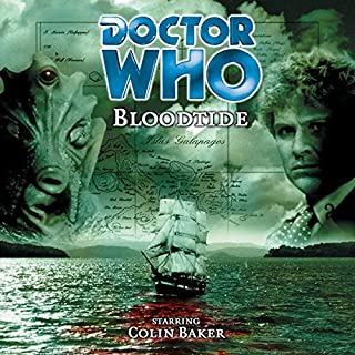 Doctor Who - Bloodtide                   By:                                                                                                                                 Jonathan Morris                               Narrated by:                                                                                                                                 Colin Baker,                                                                                        Maggie Stables                      Length: 1 hr and 59 mins     1 rating     Overall 5.0