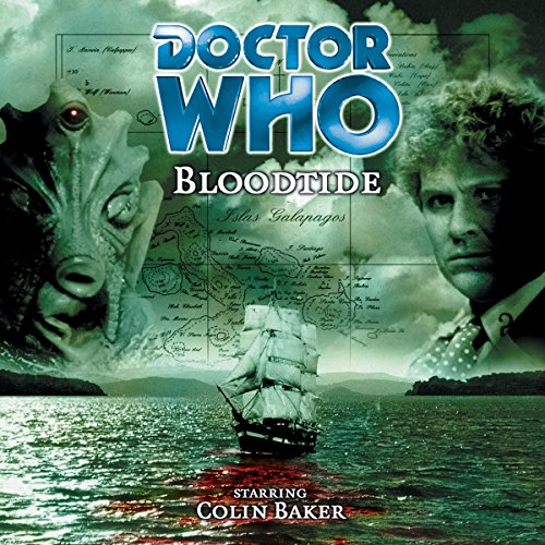 Doctor Who - Bloodtide audiobook cover art