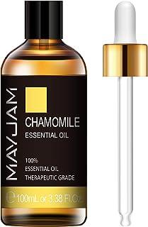 Sponsored Ad - MAYJAM Chamomile Essential Oils 100ML/3.38FL.OZ Pure Therapeutic Grade Aromatherapy Oils Ideal for Humidifi...