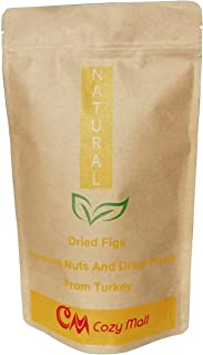 Sponsored Ad - COZY MALL Turkish Dried Figs All Natural Premium Ultra Fresh Produce (1 Lb) Rich in Fiber Great for Digestion