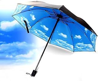 BESTFUN Travel Umbrella - Lightweight Anti-UV Sun Rain Umbrella for Men Women and Kids, Windproof Folding Compact Umbrellas with Multiple Colors