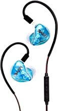 BASN Tempos in Ear Monitor Headphones with Detachable 2 Pin Cable Universal Fit Monitoring Earphone for Stage/Studio/Audiophile