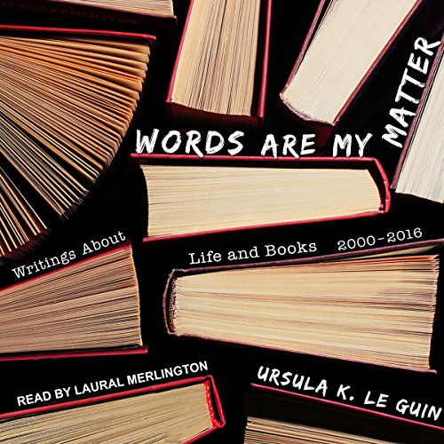 Words Are My Matter audiobook cover art
